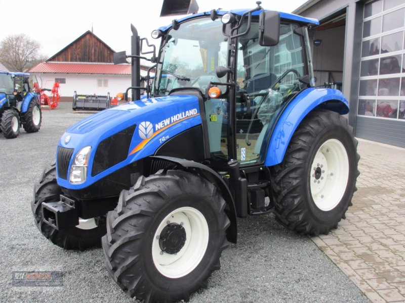 New Holland 75hp 4x4 Tractors : New holland t powerstar tractor technikboerse