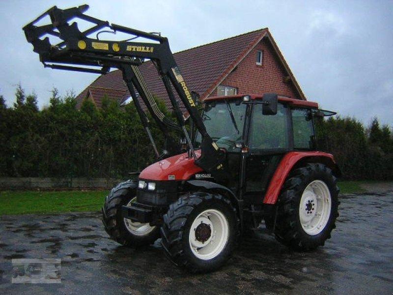 traktor new holland l 75 mit stoll frontlader. Black Bedroom Furniture Sets. Home Design Ideas