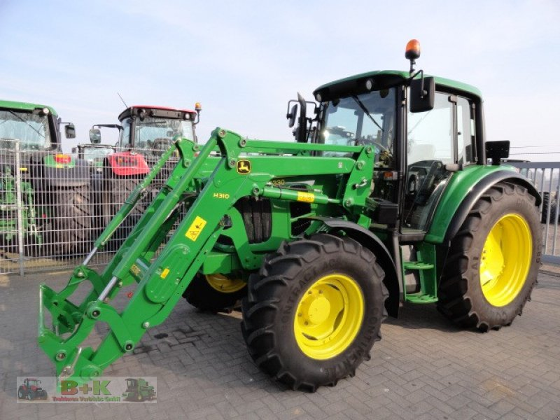 john deere 6330 mit frontlader h310 traktor. Black Bedroom Furniture Sets. Home Design Ideas