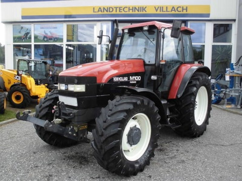New Holland M 100 Turbo Tractor - technikboerse.com