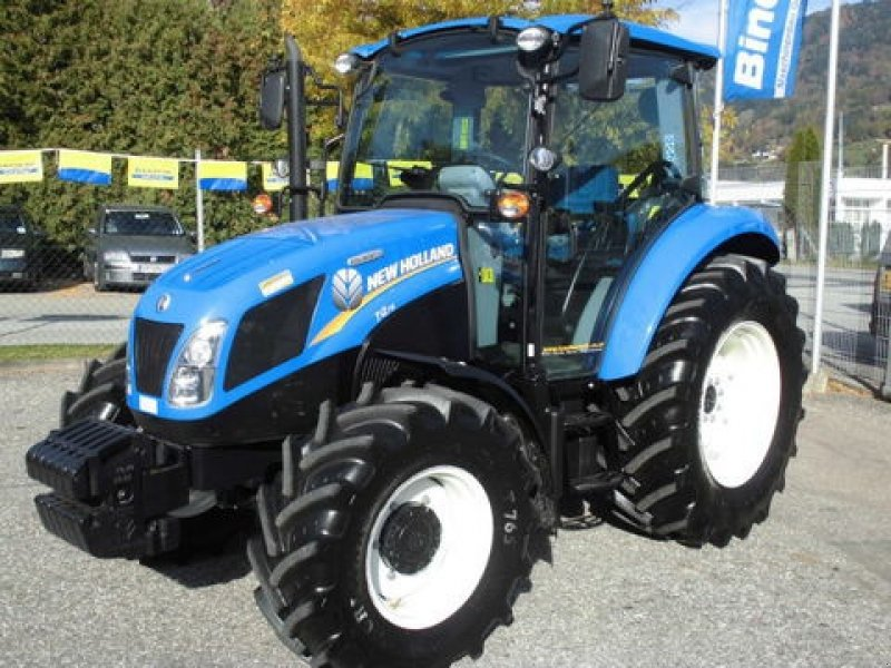 New Holland 75hp 4x4 Tractors : New holland t allrad tractor technikboerse