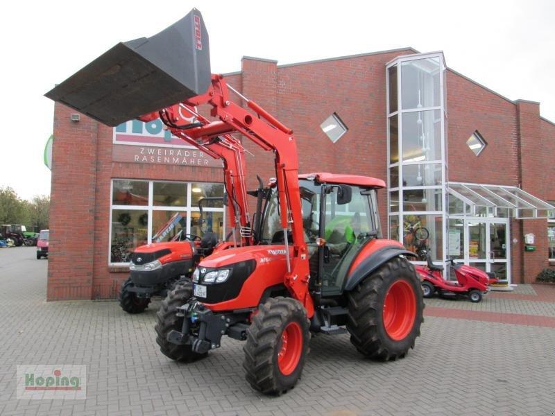 kubota m6040 mit frontlader traktor. Black Bedroom Furniture Sets. Home Design Ideas