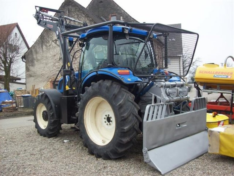 new holland ts115a tracteur forestier