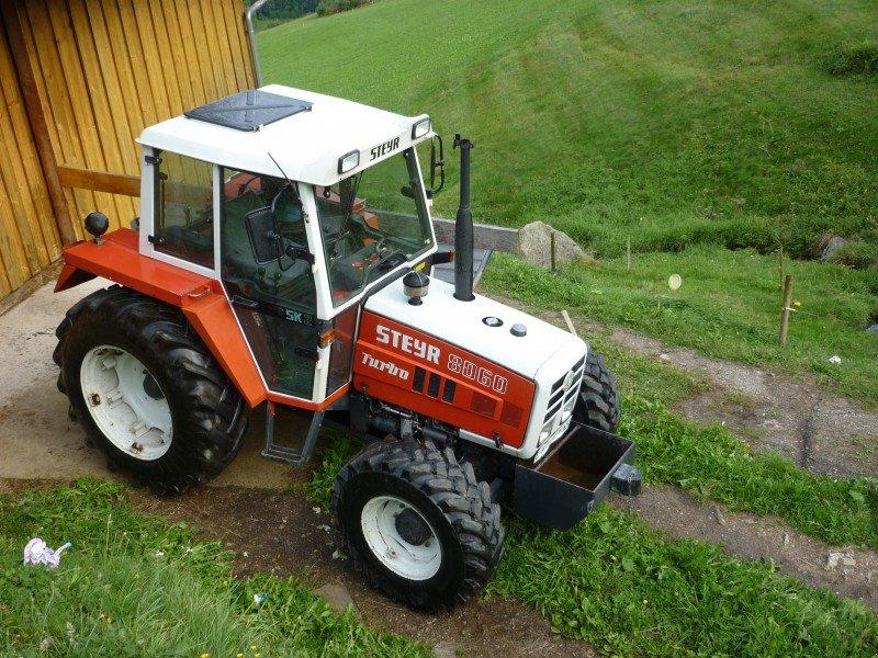 steyr 8060 turbo allrad traktor. Black Bedroom Furniture Sets. Home Design Ideas