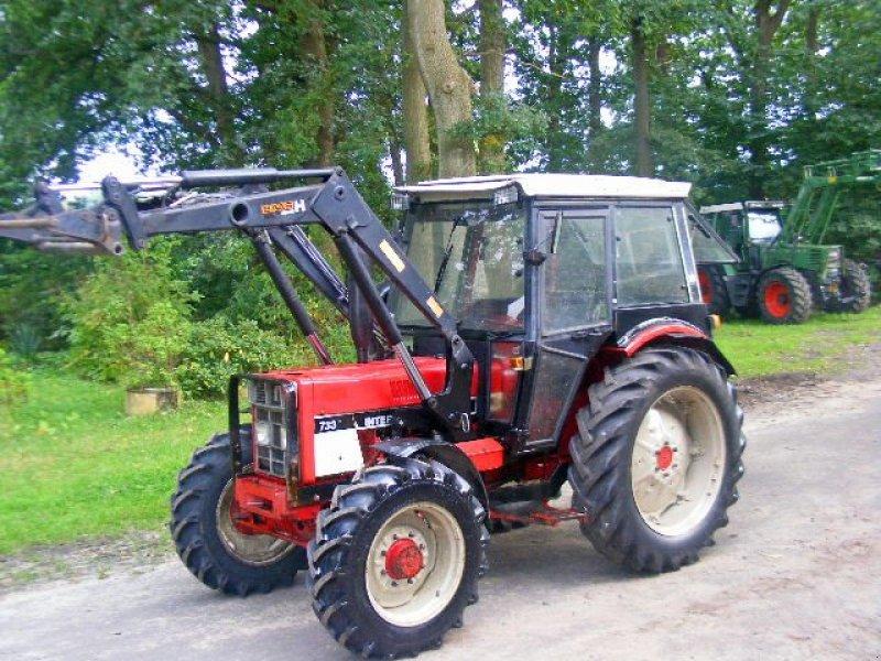 ihc 733 a frontlader kabine traktor. Black Bedroom Furniture Sets. Home Design Ideas
