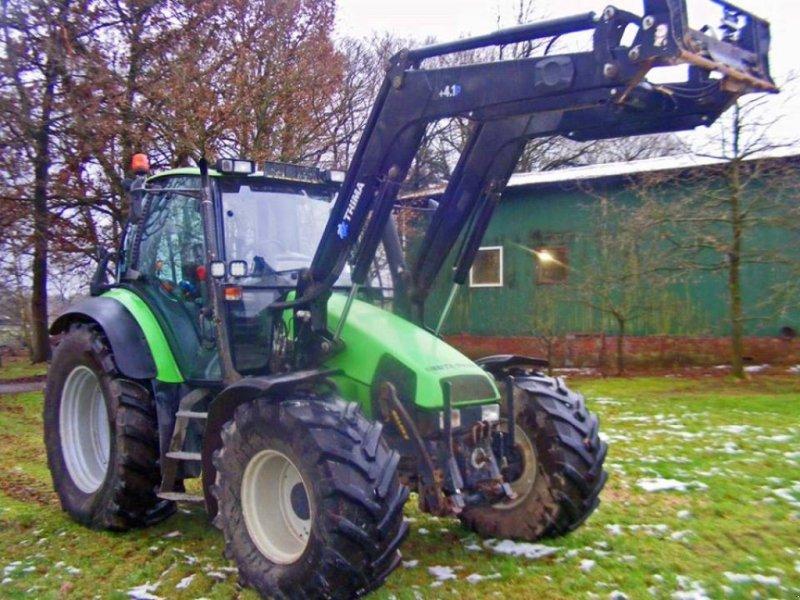 Deutz fahr agroon frontlader fronthydraulik traktor