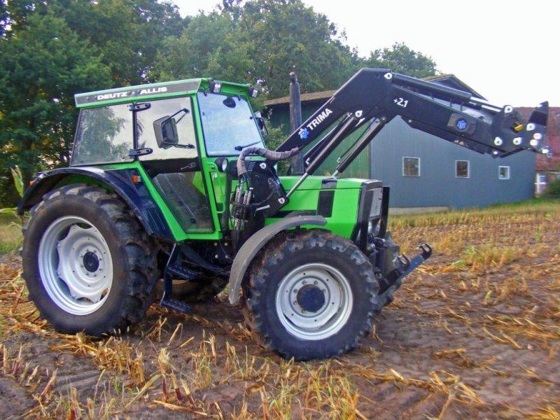 Deutz fahr dx frontlader frontzapfwelle traktor