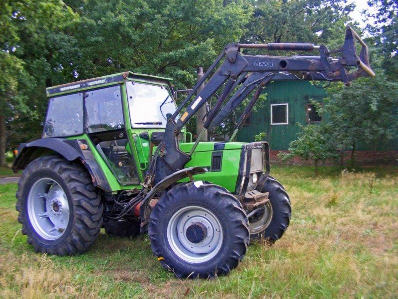 Deutz fahr dx frontlader druckluft traktor kutenholz