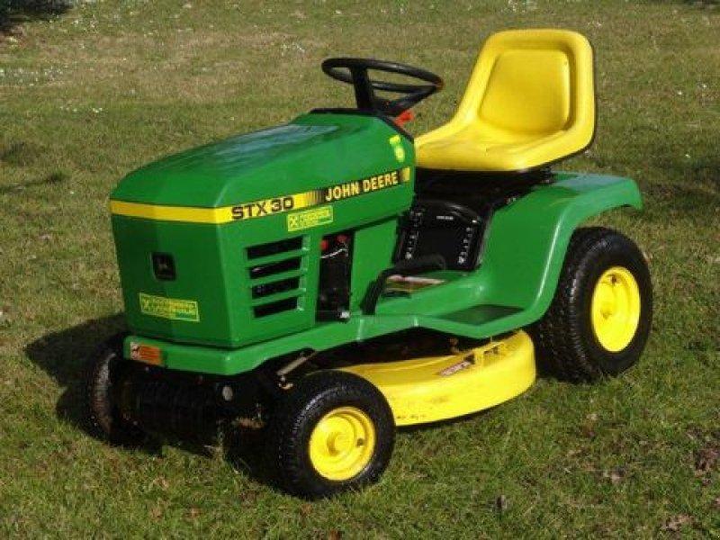 john deere stx 30 tracteur-tondeuse