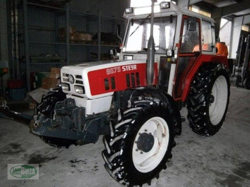 steyr 8075 allrad traktor. Black Bedroom Furniture Sets. Home Design Ideas