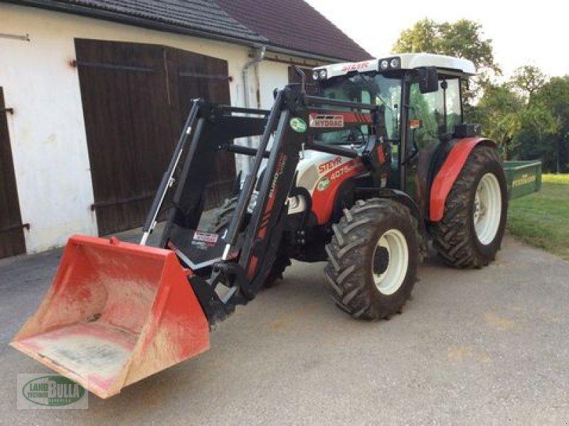 steyr kompakt 4075 a frontlader traktor. Black Bedroom Furniture Sets. Home Design Ideas