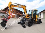 Mobilbagger des Typs JCB Hydradig 110 W inkl. Rototilt RT 30 & Löffelset in Petting
