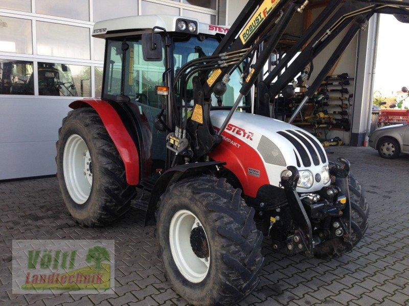 steyr 370 kompakt mit frontlader traktor. Black Bedroom Furniture Sets. Home Design Ideas