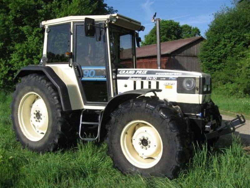 tractor lamborghini 874 90 grand prix turbo. Black Bedroom Furniture Sets. Home Design Ideas