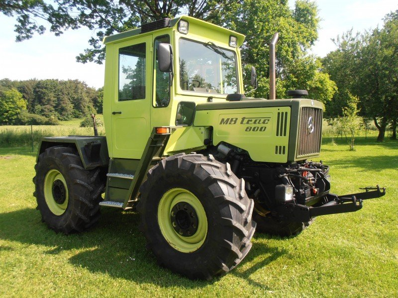 mercedes mb trac 800 tractor technikboerse