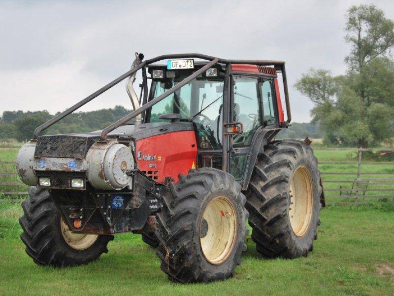 tracteur forestier valmet 8050