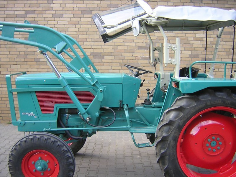Hanomag granit e s traktor technikboerse