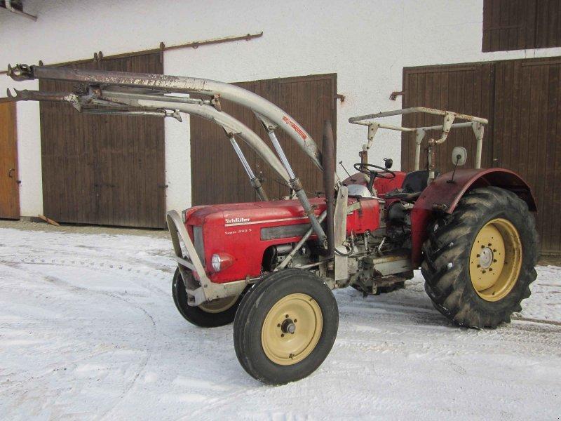 traktor schl ter super 550 s sf 4510 s. Black Bedroom Furniture Sets. Home Design Ideas
