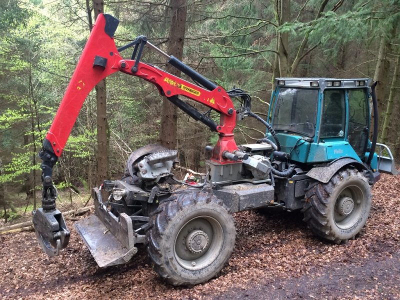 tracteur forestier felix