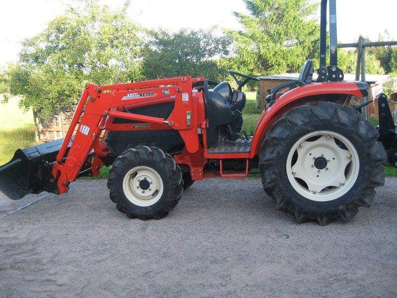 kioti ex 50 cr traktor. Black Bedroom Furniture Sets. Home Design Ideas
