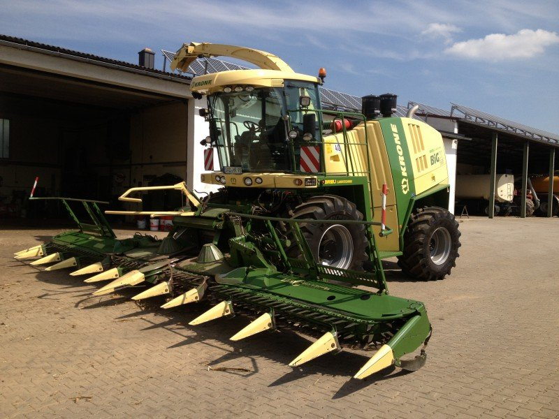krone big x 1100 r u00e9colteuse-hacheuse