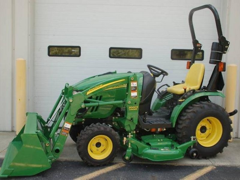 john deere 2009 john deere 2320 4x4 compact tractor. Black Bedroom Furniture Sets. Home Design Ideas