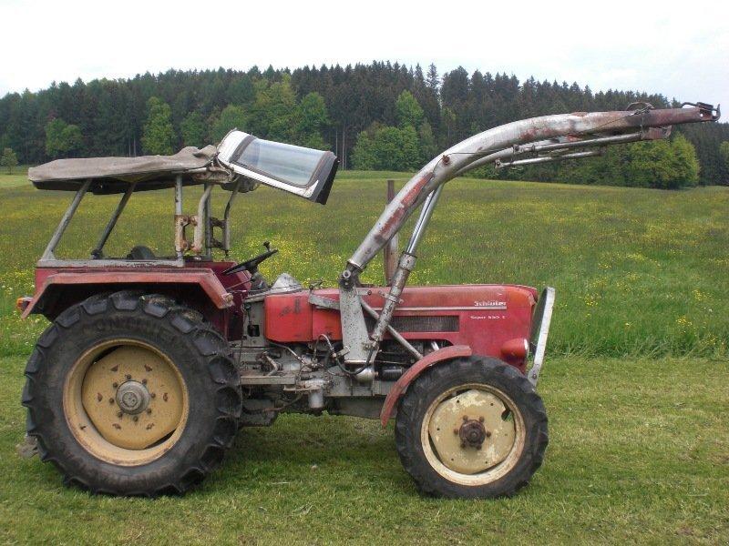 traktor schl ter super 550 v. Black Bedroom Furniture Sets. Home Design Ideas