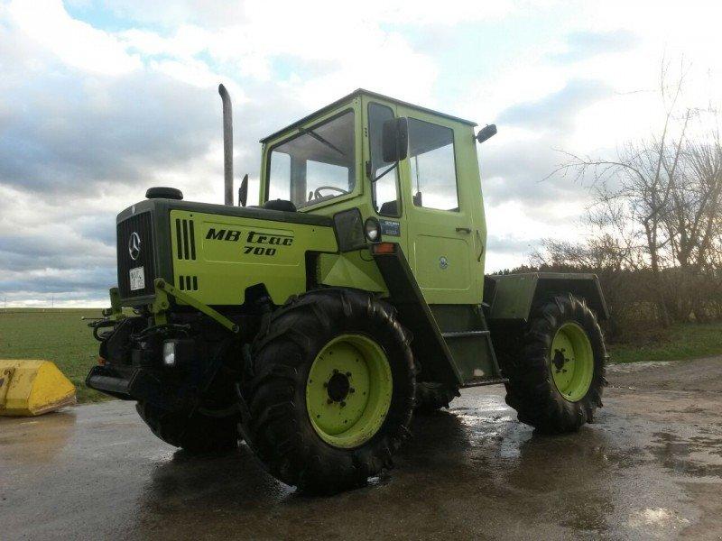 mercedes benz mb trac 700 turbo traktor. Black Bedroom Furniture Sets. Home Design Ideas