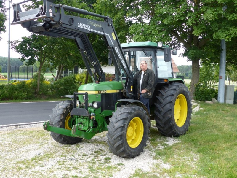 John deere as frontlader fhz klima km h tractor