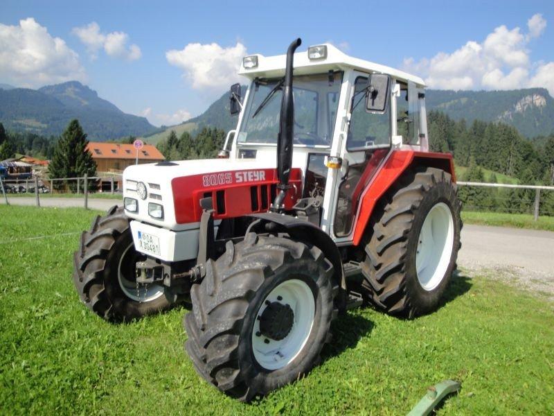 steyr 8065 traktor. Black Bedroom Furniture Sets. Home Design Ideas