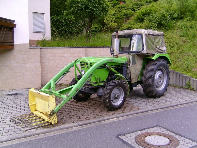 traktor deutz fahr 5006 allrad. Black Bedroom Furniture Sets. Home Design Ideas