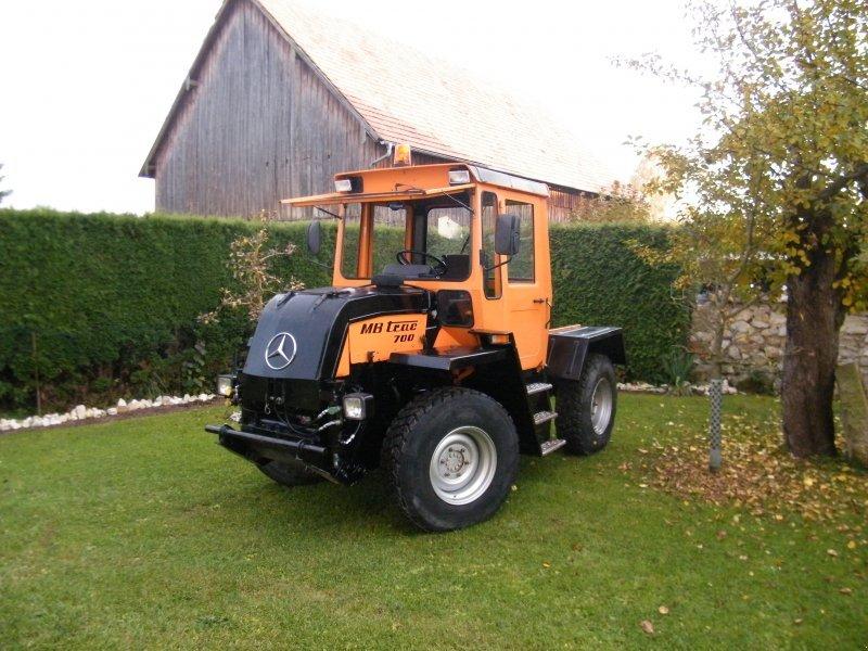 mercedes benz mb trac 700 k tracteur communal. Black Bedroom Furniture Sets. Home Design Ideas