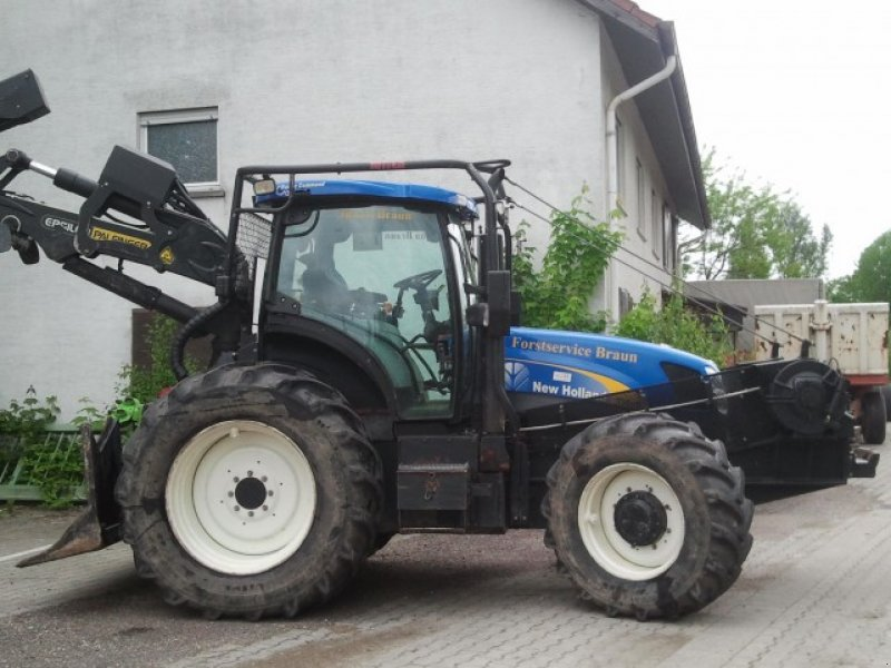 tracteur forestier new holland t 6080