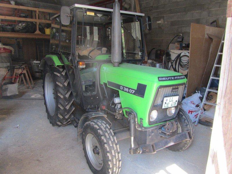 deutz fahr d3607 tractor technikboerse