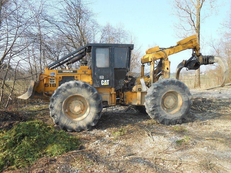 Cat 518 tracteur forestier - Bon coin ameublement dijon ...