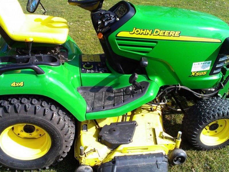 john deere x595 tracteur tondeuse. Black Bedroom Furniture Sets. Home Design Ideas