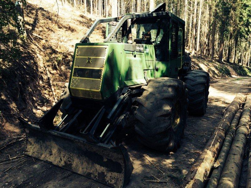 timberjack 360c haas tracteur forestier