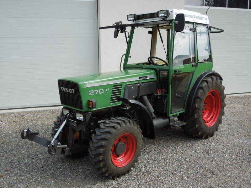 fendt fendt 270 v tracteur pour viticulture