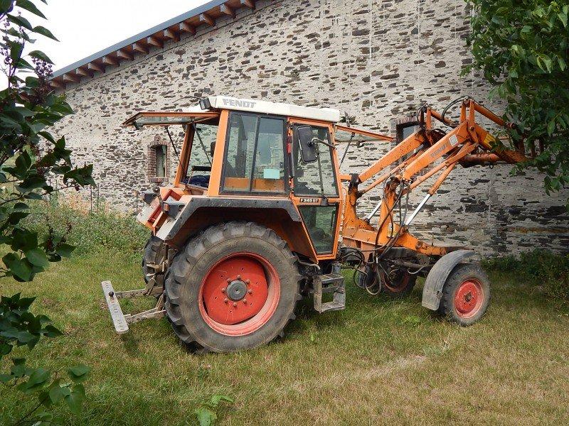 fendt 345 gt ger tetr ger frontlader traktor. Black Bedroom Furniture Sets. Home Design Ideas
