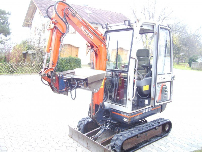 kubota kx 41 2 v bagger. Black Bedroom Furniture Sets. Home Design Ideas