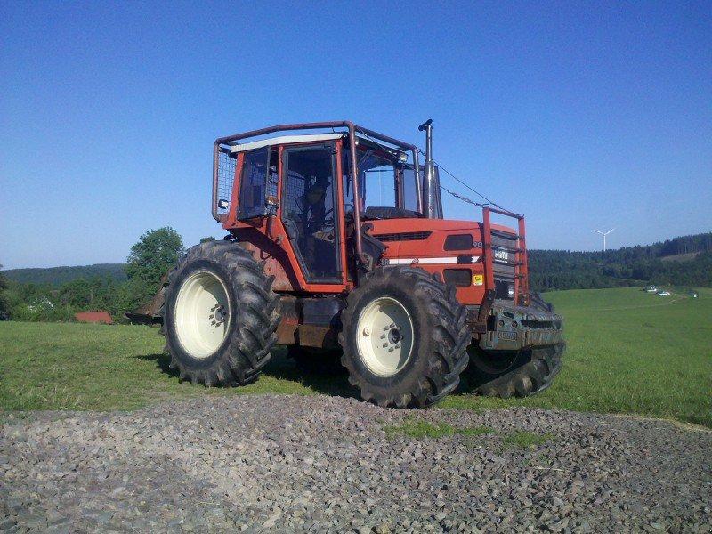 same laser 90 tracteur forestier