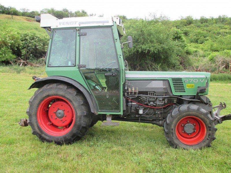 fendt 270v tracteur pour viticulture