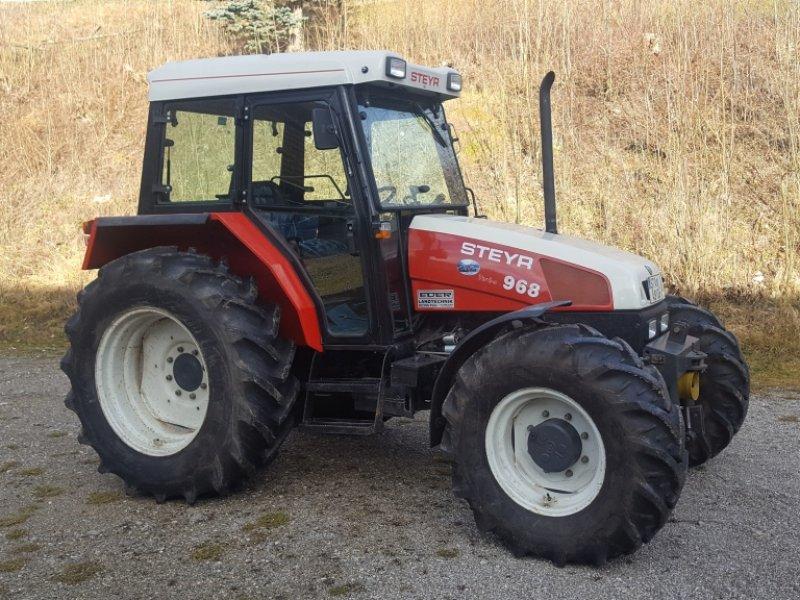 steyr 968 allrad traktor. Black Bedroom Furniture Sets. Home Design Ideas