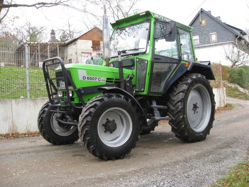 deutz fahr d 6507 ca traktor 07422 saalfelder h he. Black Bedroom Furniture Sets. Home Design Ideas