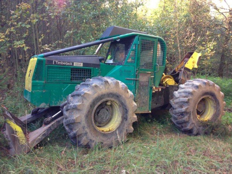 timberjack 225a tracteur forestier